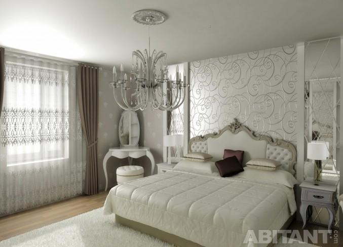 Дизайн спальни по проекту